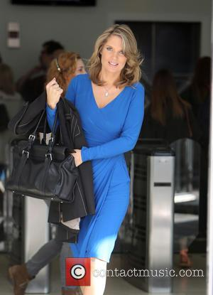 Charlotte Hawkins - Charlotte Hawkins outside the ITV studios - London, United Kingdom - Monday 8th September 2014