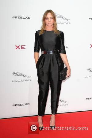 Stella McCartney - Jaguar XE Global Launch Party and Show held at Earls Court - Arrivals - London, United Kingdom...