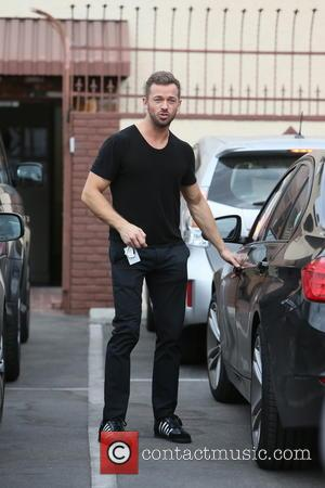 Artem Chigvintsev - Lea Thompson and dance partner Artem Chigvintsev leaving a dance studio after rehearsals for 'Dancing With The...
