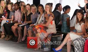 Gail Simmons, Holland Roden, Taryn Manning, Jaime Chung and Julie Henderson - Mercedes-Benz New York Fashion Week Spring 2015 -...