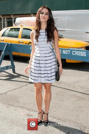 Jessica Lowndes - Mercedes-Benz New York Fashion Week Spring 2015 - Celebrity Sightings - New York City, New York, United...