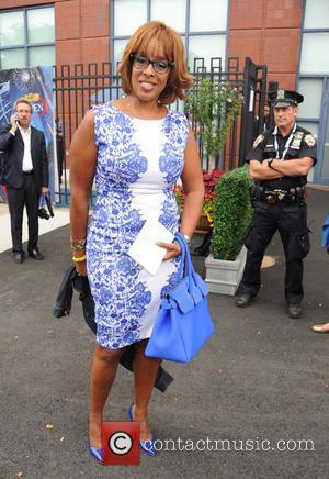 Gayle King - 2014 Tennis U.S. Open - Men's Final - Celebrity Sightings - Flushing Meadows, New York, United States...