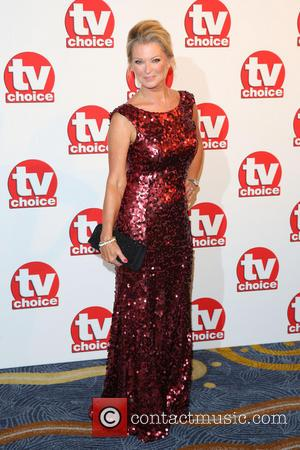 Gillian Taylforth - TVChoice Awards 2014 held at the Park Lane Hilton - Arrivals - London, United Kingdom - Monday...
