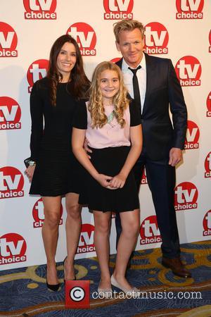Gordon Ramsay, Tana Ramsay and Daughter Matilda