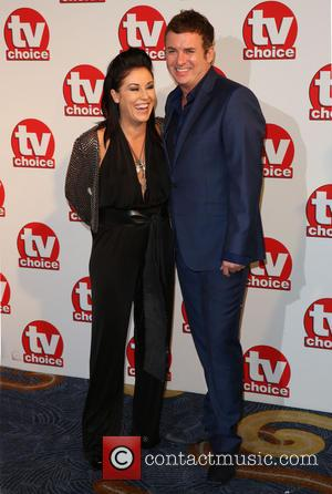 Jessie Wallace and Shane Richie - TVChoice Awards 2014 held at the Park Lane Hilton - Arrivals - London, United...