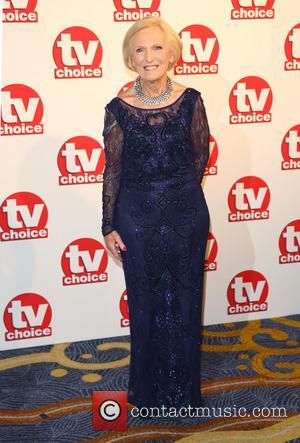 Mary Berry - TVChoice Awards 2014 held at the Park Lane Hilton - Arrivals - London, United Kingdom - Monday...