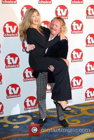 Amy Willerton, Keith Lemon and Leigh Francis - TVChoice Awards 2014 held at the Park Lane Hilton - Arrivals -...
