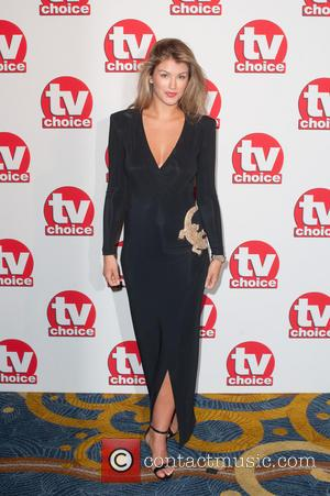 Amy Willerton - TV Choice Awards held at the London Hilton Park Lane - Arrivals. - London, United Kingdom -...