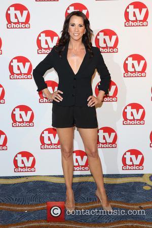 Andrea McLean - TV Choice Awards 2014 held at the Park Lane Hilton - Arrivals - London, United Kingdom -...