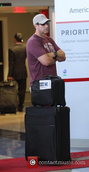 Rob Riggle - American comedy actor and former US Marine Corps Reserve officer Rob Riggle spotted at L.A. International Airport...