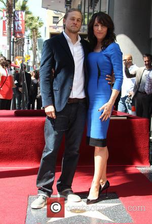 Charlie Hunnam and Katey Sagal - Katey Sagal at her Hollywood Walk of Fame star ceremony - Hollywood, California, United...