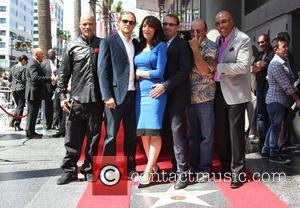 Katey Sagal, Charlie Hunnam, Kurt Sutter, Dayton Callie and Paris Barclay - Katey Sagal at her Hollywood Walk of Fame...
