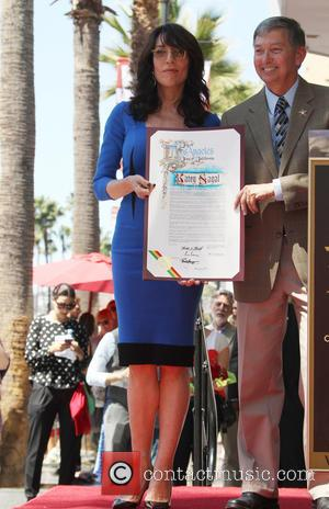 Katey Sagal and Leron Gubler - Katey Sagal at her Hollywood Walk of Fame star ceremony - Hollywood, California, United...