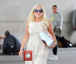Vanessa Feltz - Vanessa Feltz out and about in Central London - London, United Kingdom - Tuesday 9th September 2014
