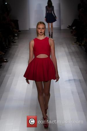 Angela Simmons and Model