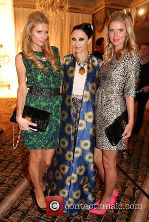 Paris Hilton, Stacey Bendet and Nicky Hilton