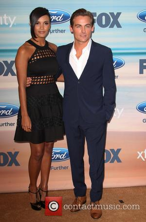 Jessica Lucas and Kevin Zegers - A host of celebrities attend the 2014 FOX Fall Eco-Casino Party in Santa Monica,...