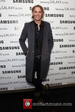 Jamie Campbell Bower - Samsung Galaxy Alpha launch party held at The Collection - Arrivals - London, United Kingdom -...