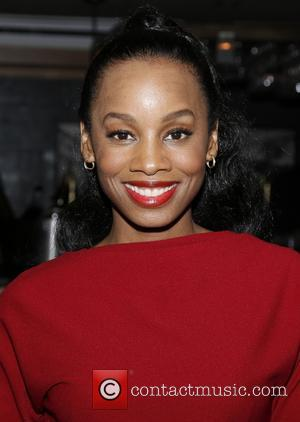 Anika Noni Rose - Cocktail party celebrating Broadway's Side Show held at the Library at the Public Theater - New...