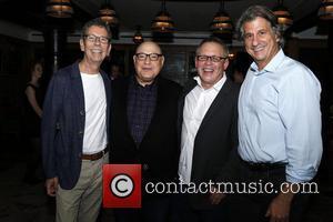 Bill Russell, Henry Krieger, Bill Condon and David Rockwell