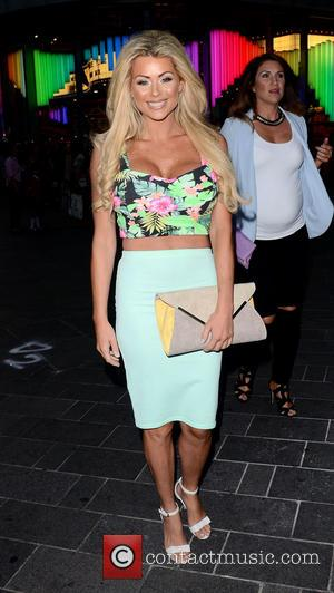 Nicola McLean - Dreamboys 'Fit and Famous Tour 2014' - Press Night held at Rise - London, United Kingdom -...