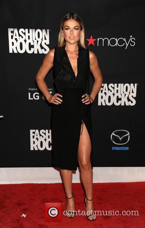 Serinda Swan - Fashion Rocks 2014 held at the Barclays Center - Arrivals - Brooklyn, New York, United States -...