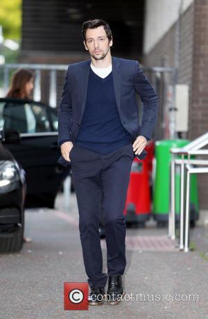 Ralf Little - Ralf Little outside the ITV studios - London, United Kingdom - Tuesday 9th September 2014