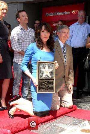 Katey Sagal - Katey Sagal at her Hollywood Walk of Fame star ceremony - Los Angeles, California, United States -...