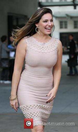 Kelly Brook - Kelly Brook at the BBC Radio 1 studios - London, United Kingdom - Tuesday 9th September 2014