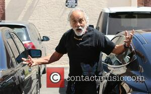 Tommy Chong - Tommy Chong seen arriving at a dance studio to practice for 'Dancing with the Stars' - Los...