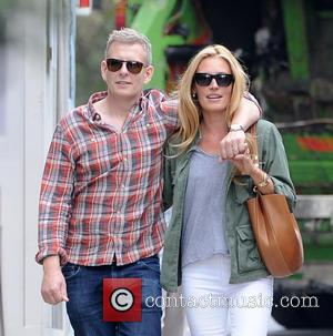 Cat Deeley , Patrick Kielty - Cat Deeley and Patrick Kielty walking on Kings Road in Chelsea - London, United...