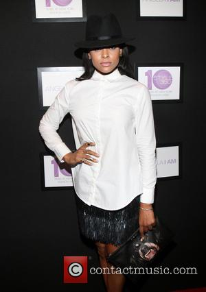Guest - Stars turned out in style to attend the Mercedes-Benz New York Fashion Week Spring 2015 as Angela Simmons...