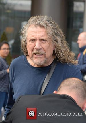Robert Plant - Rocker Robert Plant literally let his hair...