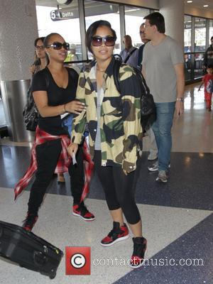 Lauren London - Lauren London at Los Angeles International Airport (LAX) - Los Angeles, California, United States - Wednesday 10th...
