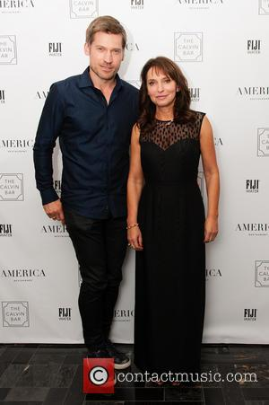 Nikolaj Coster-waldau and Susanne Bier