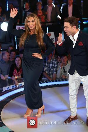 Lauren Goodger and Ricci Guarnaccio - Celebrity Big Brother eviction - London, United Kingdom - Wednesday 10th September 2014