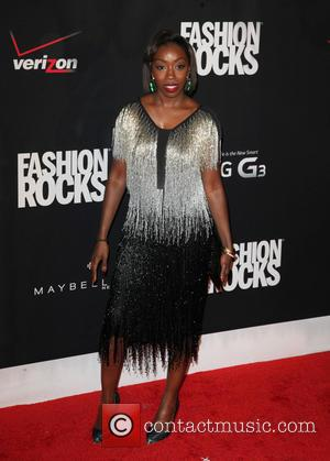 Estelle - Fashion Rocks 2014 at Barclays Center - Brooklyn, New York, United States - Wednesday 10th September 2014