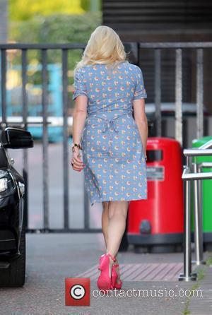 Nancy Sorrell - Nancy Sorrell outside the ITV studios - London, United Kingdom - Wednesday 10th September 2014
