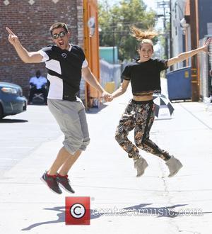 Jonathan Bennett and Allison Holker