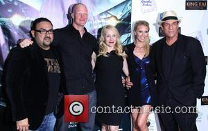 Christian Sesma, Derek Mears, Jenni Blong, Rochelle Vallese and Robert Davi