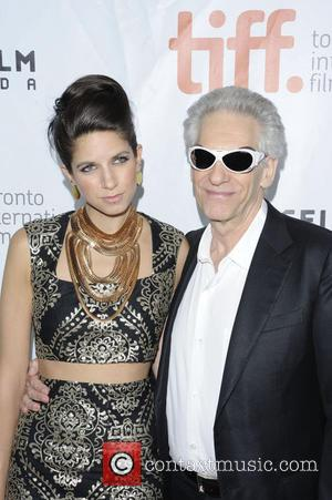 David Cronenberg and Caitlin Cronenberg