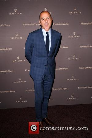 Matt Lauer - A host of celebrities arrive on the red carpet for the One of 100 Maserati Quattroporte Zegna...