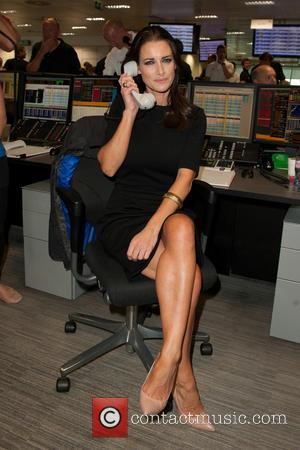 Kirsty Gallagher - A host of British Celebrities were helping out at the 2014 BGC Fundraising Day on the trading...