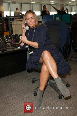 Patsy Kensit - A host of British Celebrities were helping out at the 2014 BGC Fundraising Day on the trading...