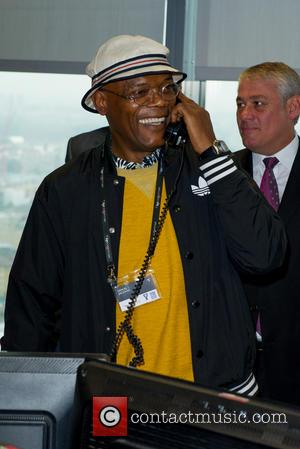 Samuel L Jackson - A host of British Celebrities were helping out at the 2014 BGC Fundraising Day on the...