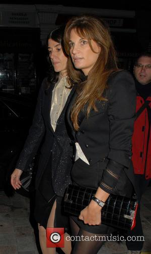 Jemima Khan - Celebrities including Natalie Joel from the hit UK reality TV show Made in Chelsea spotted at the...