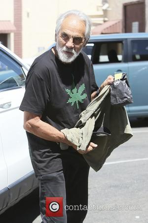 Tommy Chong - Celebrities and their dance partners seen at...