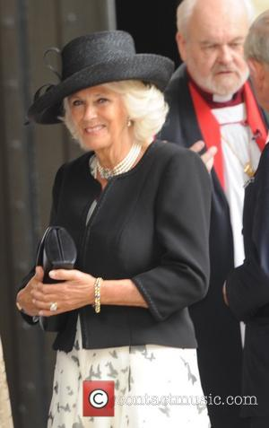 Camilla Duchess Of Cornwall - Mark Shand's Memorial at St Pauls Church in Knightsbridge - London, United Kingdom - Thursday...