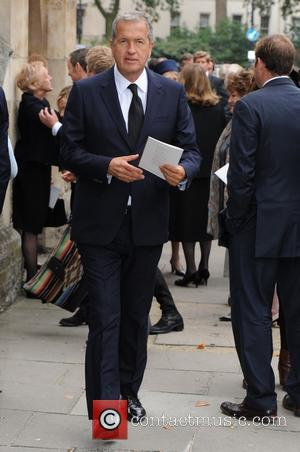 Mario Testino - Mark Shand's Memorial at St Pauls Church in Knightsbridge - London, United Kingdom - Thursday 11th September...