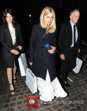 Laura Bailey - Celebrities visit Chiltern Firehouse - London, United Kingdom - Thursday 11th September 2014